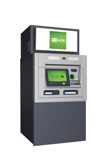 NCR SelfServ 37 Fully weatherized freestanding full-function ATM
